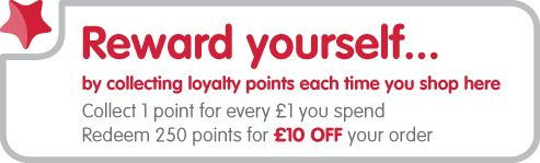 Reward yourself by collecting loyalty points at www.yolo.co.uk