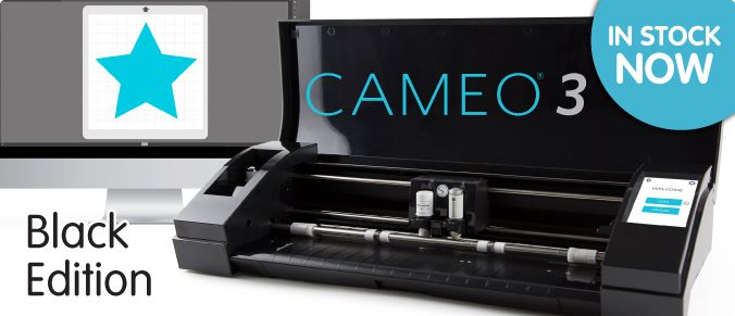 Silhouette Cameo® 3 Limited Edition BLACK