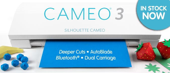 NEW Silhouette Cameo® 3 Contour Cutter