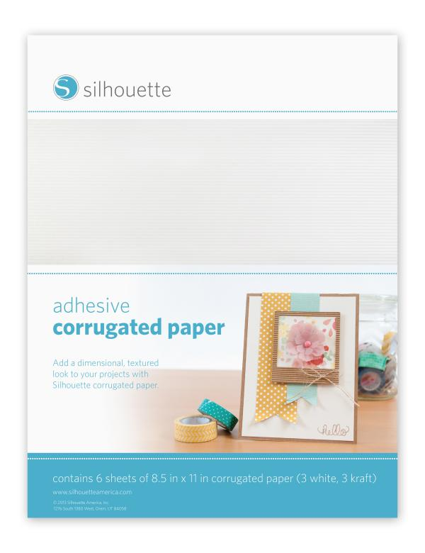best adhesive corrugated paper - Silhouette | yolo creative