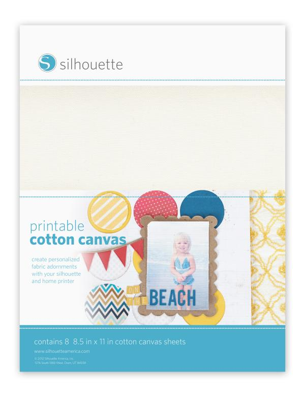 yolö creative | love transfer - Silhouette Printable Cotton Canvas