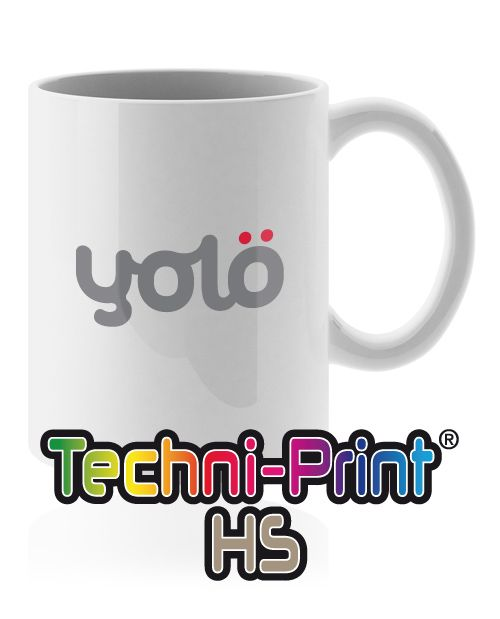 yolö creative | love transfer - Techni-Print® HS Transfer Paper - Heat Transfer Paper for Mugs and Hard Surfaces