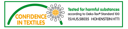 Tested for harmful substances according to Oeko-Tex Standard 100
