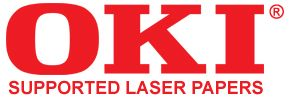 OKI supported laser heat transfer papers